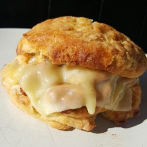 buttermilk biscuit sandwich