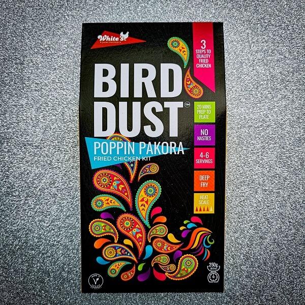 poppin pakora bird dust